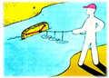 водяного змея для рыбалки
